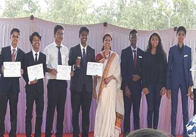 WGS students participated in DMUN at Deens Academy, Gunjur