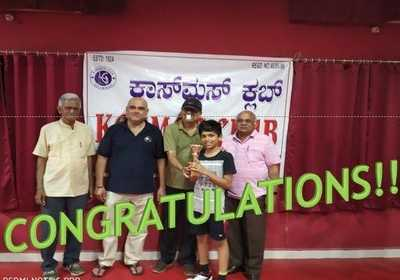 State-ranking Table Tennis Tournament in Dharwad from WGS