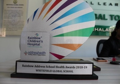 The Rainbow Address School Health Awards 2018-19