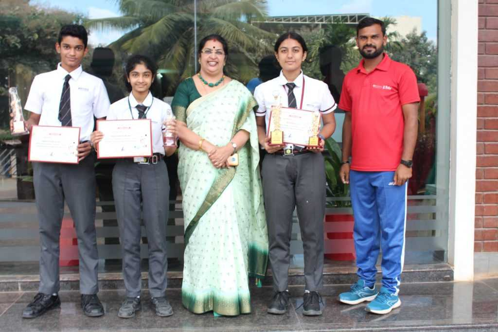 Inter School Schoolkids Badminton Tournament