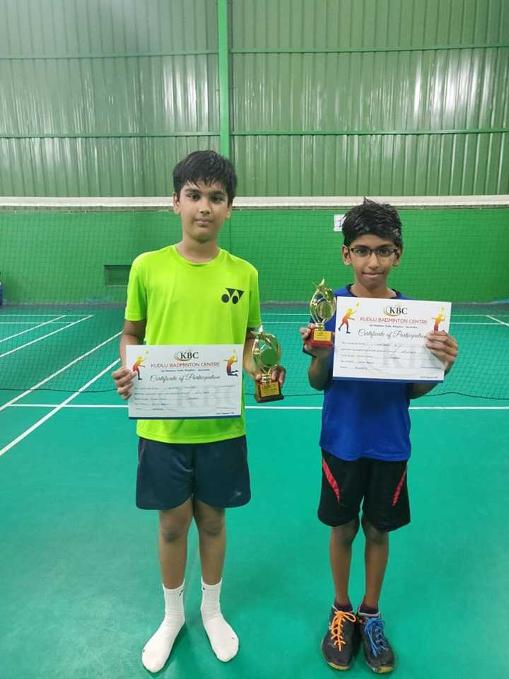 KBC Junior Badminton tournament