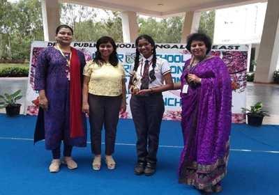 Award Won By Rishika Gitta at DPS
