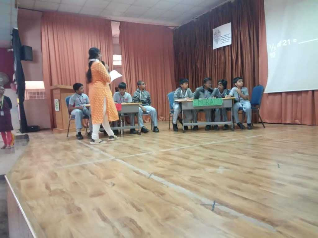 Inter House Mathemania Competition