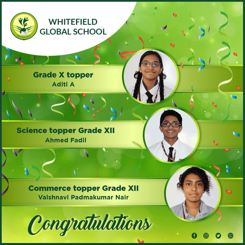WGS Toppers for 2019-2020
