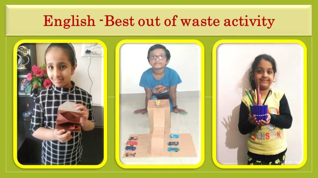 Grade 2 Experiential learning activities